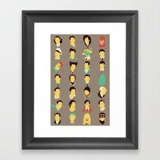 Jims Framed Art Print