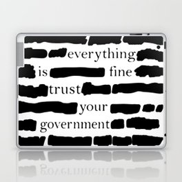 Trust Your Government Laptop & iPad Skin