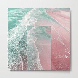 Pink Sands Metal Print