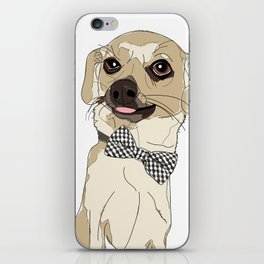 Chihuahua with Bow Tie iPhone Skin