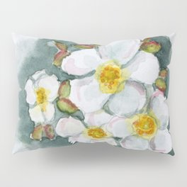 Watercolour Wildflower Pillow Sham