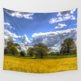 The Arrival Of Summer Wall Tapestry