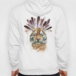 Leopard illustration Hoody