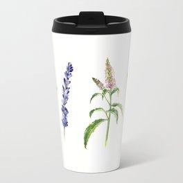 Tea Flowers Travel Mug