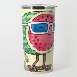 Watermelon Skater Travel Mug
