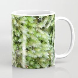 TEXTURES -- Moss on a Tree Trunk Coffee Mug