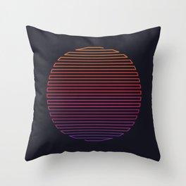 Linear Light Throw Pillow