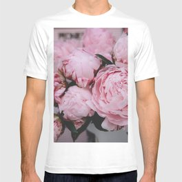 Pink Flowers Photography T-shirt