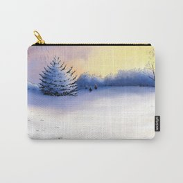 Landscape blanc sur blanc Carry-All Pouch