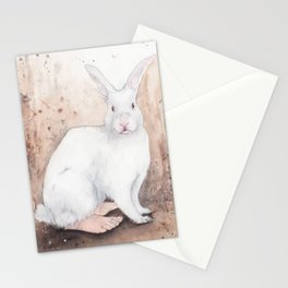 What If...?? Rabbits Had Feet. Stationery Cards
