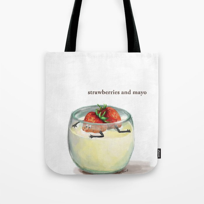La Cuisine Fusion - Strawberries with Mayo Tote Bag