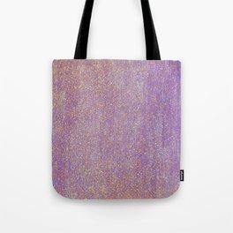 Elegant purple lavender faux gold glitter Tote Bag