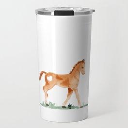 I heart baby horses Travel Mug