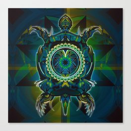 Turtle Spirit Canvas Print