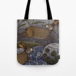 Swamp Rabbit's Reedy River Race Tote Bag