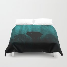 Wolf Pass Duvet Cover