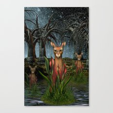 Katz  Canvas Print