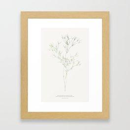 teach the children Framed Art Print