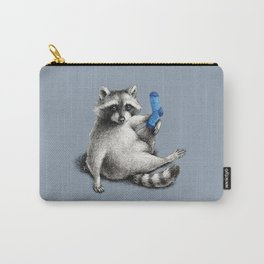 Yoga Raccoon Carry-All Pouch