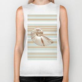 Seashell Biker Tank