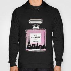 Paris perfume fashion illustration eiffel tower Hoody