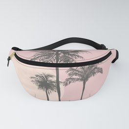 Tropical Sunset In Peach Coral Pastel Colors Fanny Pack