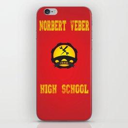 High school logo iPhone Skin