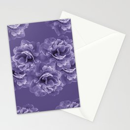 Ultra Violet Peony Flower Bouquet #1 #floral #decor #art #society6 Stationery Cards