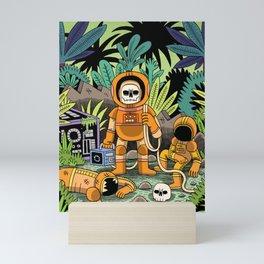 Lost contact Mini Art Print