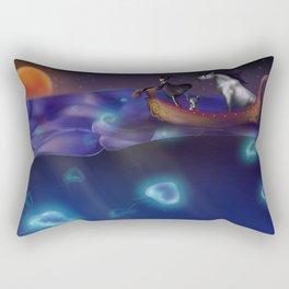 Traveling The World Rectangular Pillow