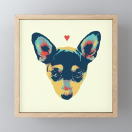 Pet Thoughts Framed Mini Art Print