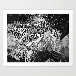 Class Reunion Art Print