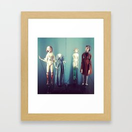 Puppets Framed Art Print