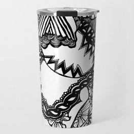 Laughter (abstract) Travel Mug