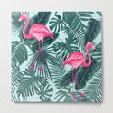 tropical pink flamingo by markashkenazi