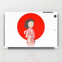 chihiro iPad Cases featuring Chihiro by adovemore