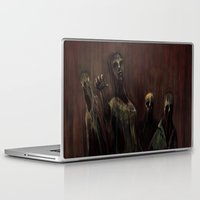 zombies Laptop & iPad Skins featuring Zombies! by Adam Howie