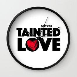 Tainted Love, 80s anthem | UK Bands | British Songs Wall Clock