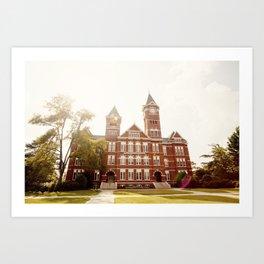 Samford Hall - Auburn University 2 Art Print