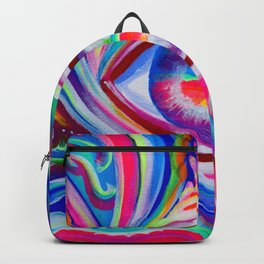 """""""Eye love you too"""" by Audreana Cary & Adam France Backpack"""