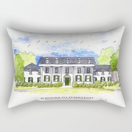 Mississippi State - Scenes Around Campus Rectangular Pillow