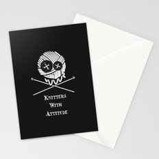 Knitters With Attitude Stationery Cards
