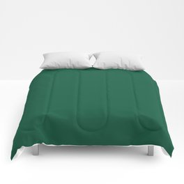 Simply Forest Green Comforters