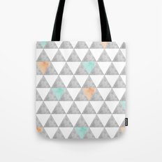 Tri-angle Tote Bag