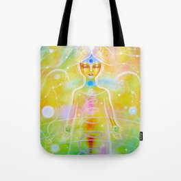 Reconnection Angel Tote Bag