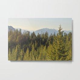 Squamish, BC Metal Print