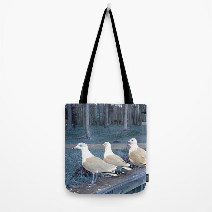"""""""Ducks"""" in a row :) Tote Bag"""