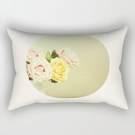 -Earth Laughs in Flowers- Rectangular Pillow