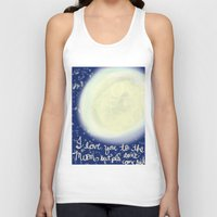 return Tank Tops featuring no return by Maria Veluz