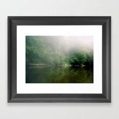 Misty Morning Framed Art Print